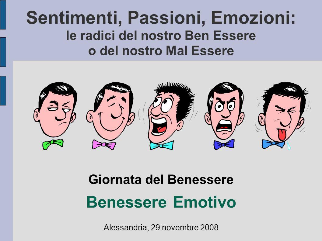 Giornata del Benessere Benessere Emotivo Alessandria, 29 novembre 2008