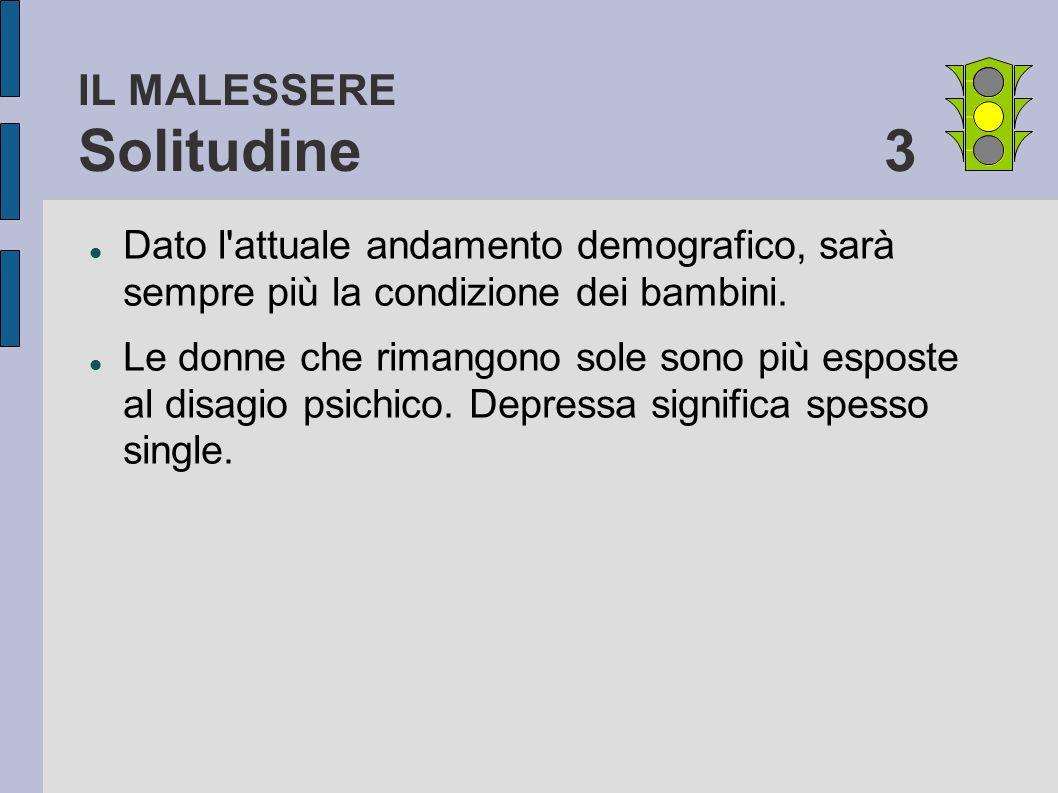 IL MALESSERE Solitudine 3
