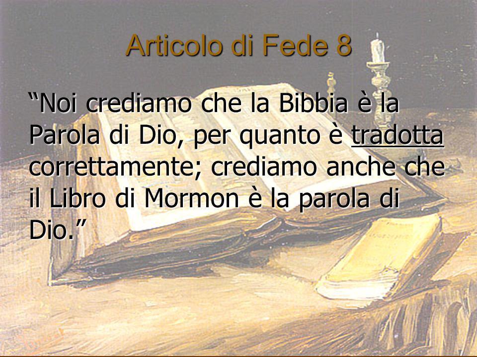 Articolo di Fede 8