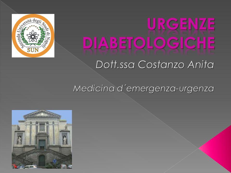 URGENZE DIABETOLOGICHE