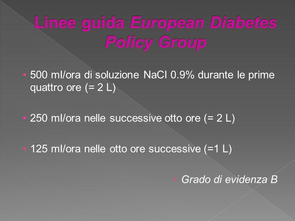 Linee guida European Diabetes PoIicy Group
