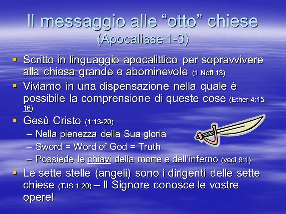 Il messaggio alle otto chiese (Apocalisse 1-3)