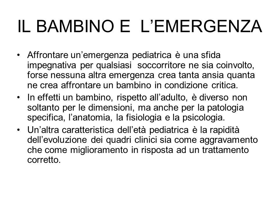 IL BAMBINO E L'EMERGENZA