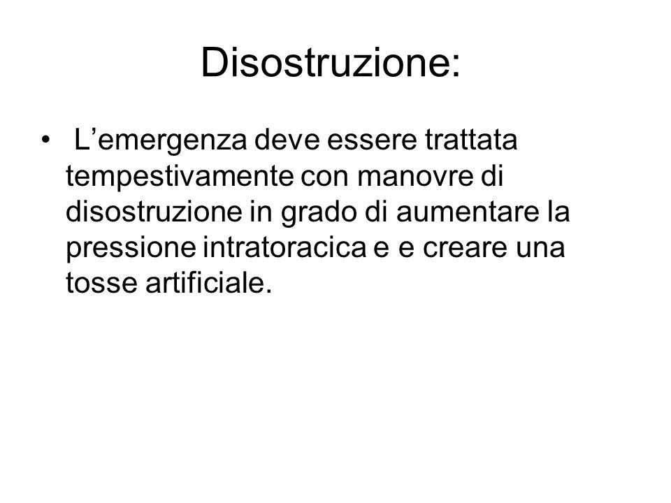 Disostruzione: