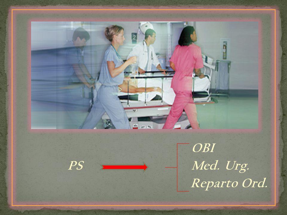 OBI PS Med. Urg. Reparto Ord.