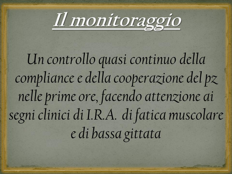 Il monitoraggio