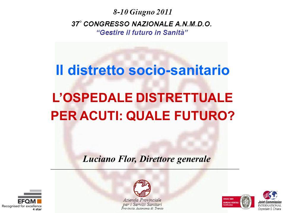 Il distretto socio-sanitario