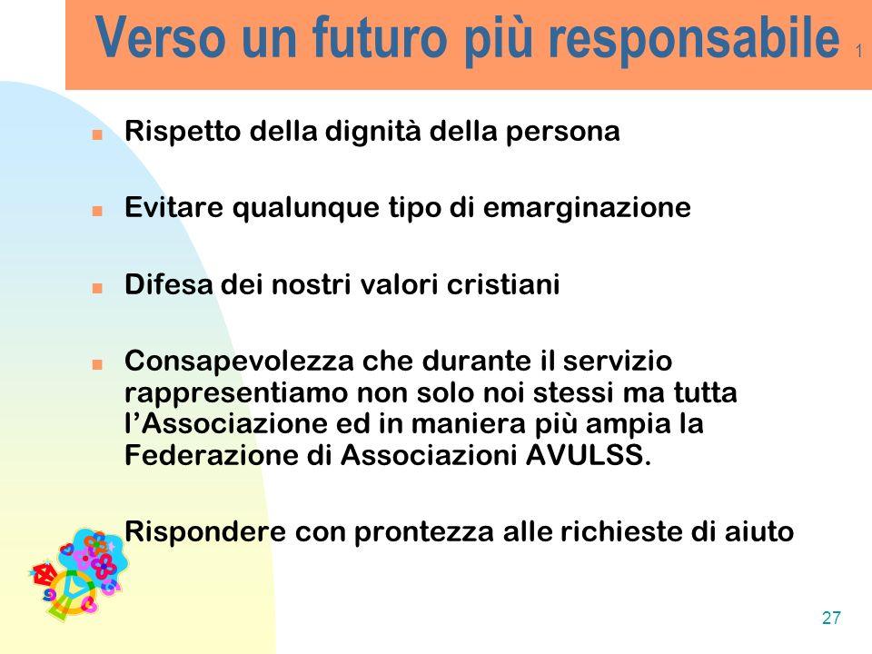 Verso un futuro più responsabile 1