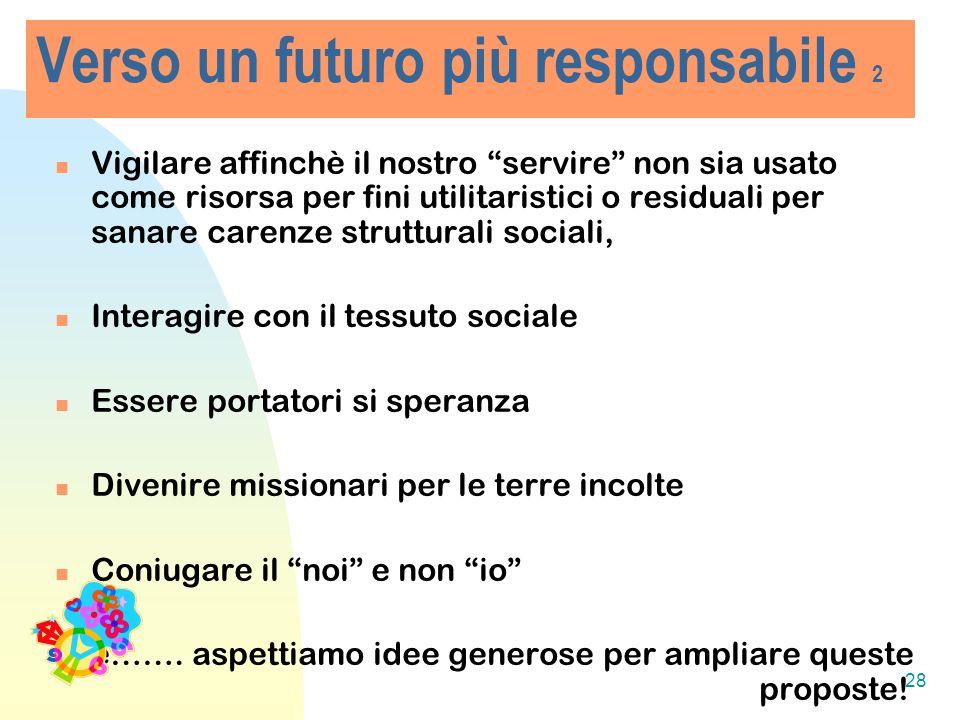 Verso un futuro più responsabile 2