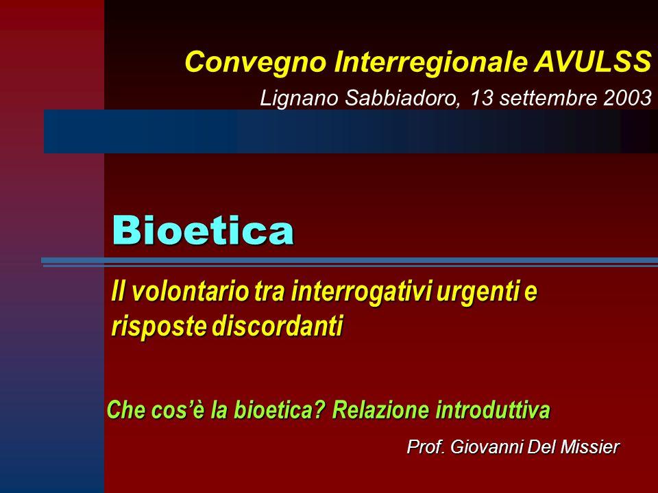 Prof. Giovanni Del Missier