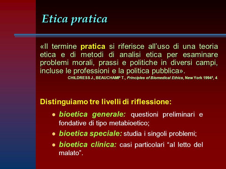 Etica pratica