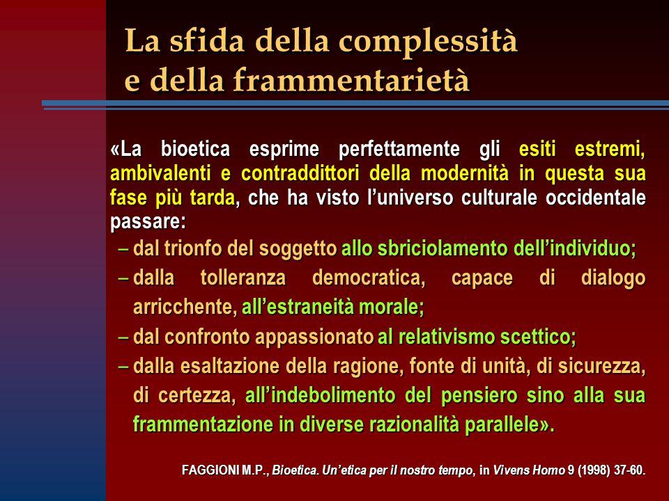 La sfida della complessità e della frammentarietà