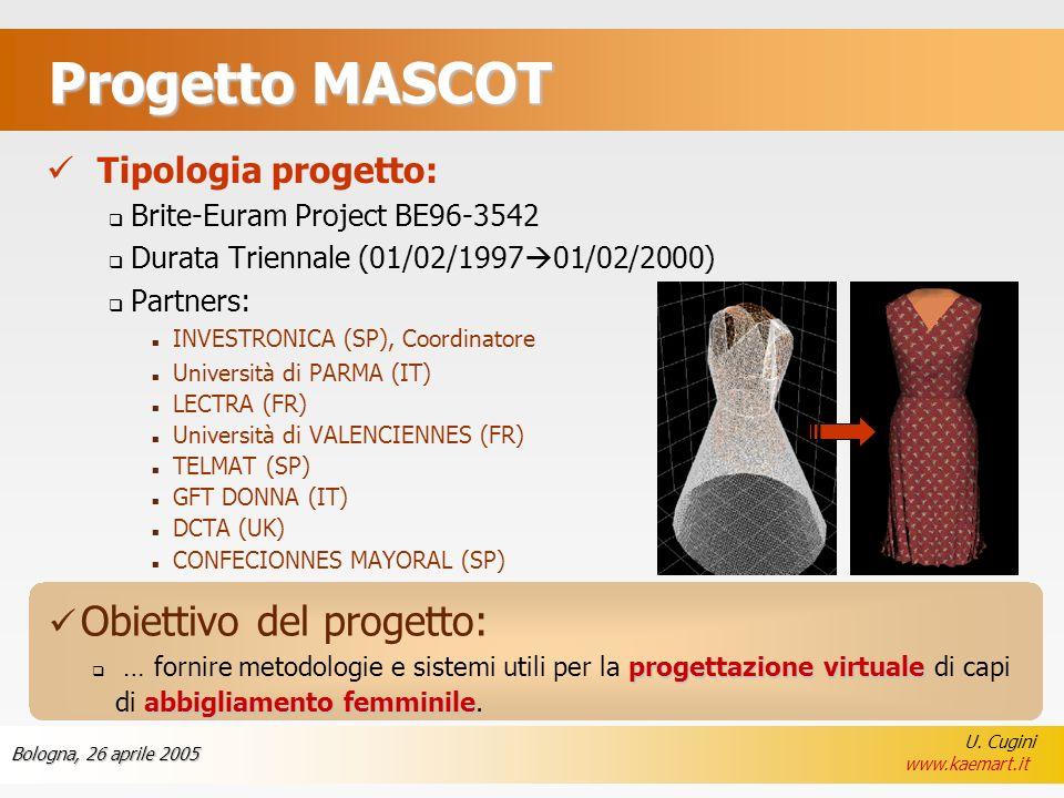 Progetto MASCOT Tipologia progetto: Obiettivo del progetto: