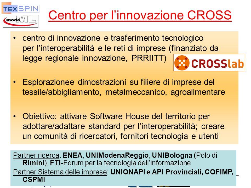 Centro per l'innovazione CROSS