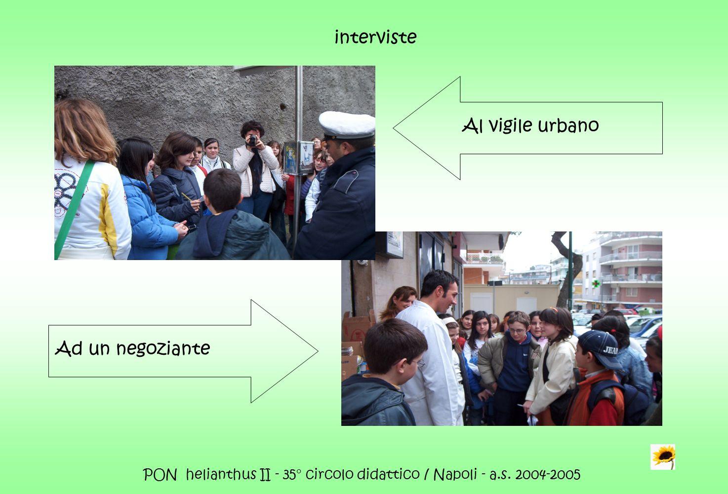 PON helianthus II - 35° circolo didattico / Napoli - a.s. 2004-2005