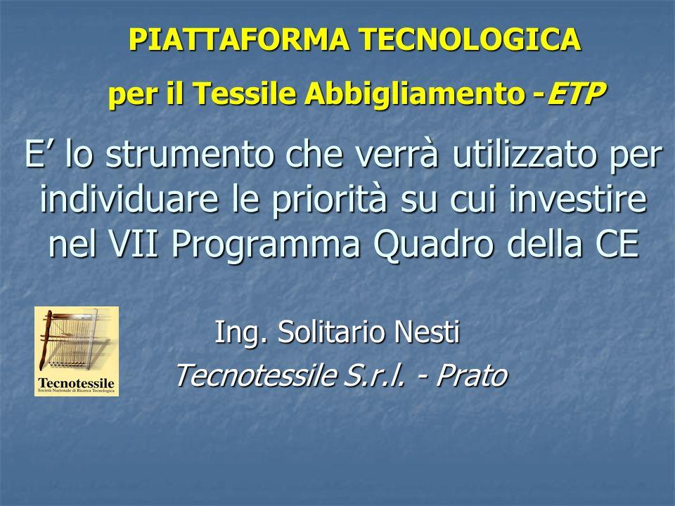 Ing. Solitario Nesti Tecnotessile S.r.l. - Prato