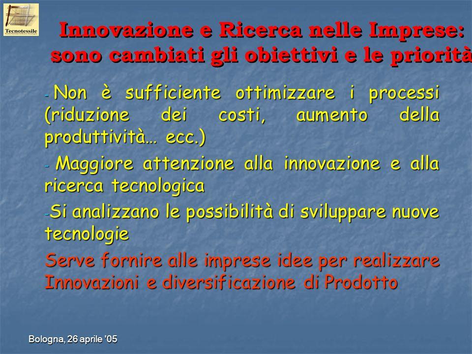 Innovazione e Ricerca nelle Imprese: