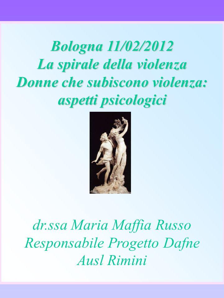 Bologna 11/02/2012 La spirale della violenza