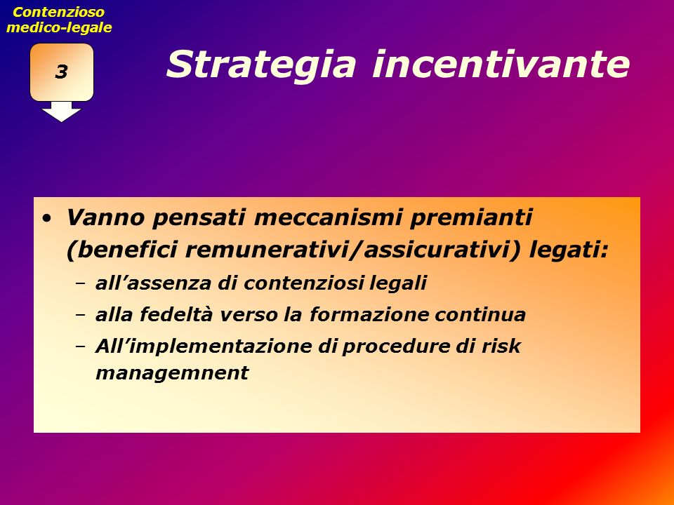 Strategia incentivante