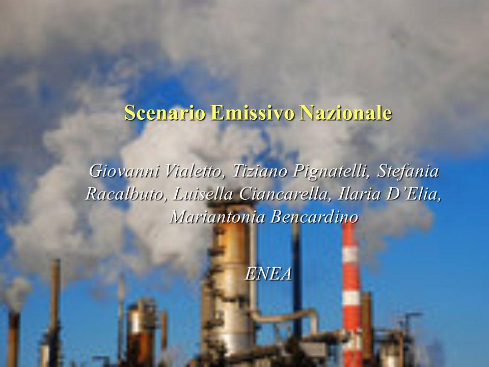 Scenario Emissivo Nazionale