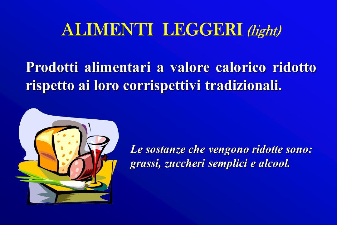 ALIMENTI LEGGERI (light)