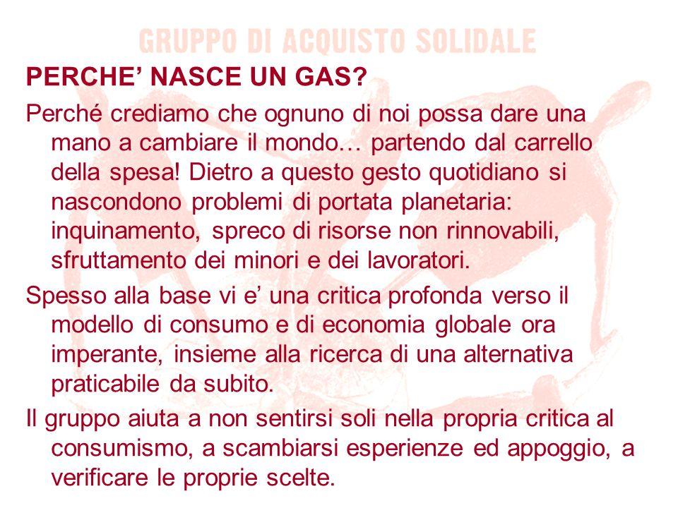 PERCHE' NASCE UN GAS