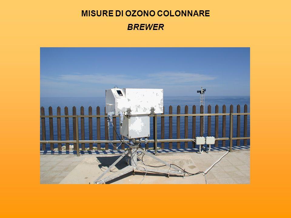 MISURE DI OZONO COLONNARE BREWER