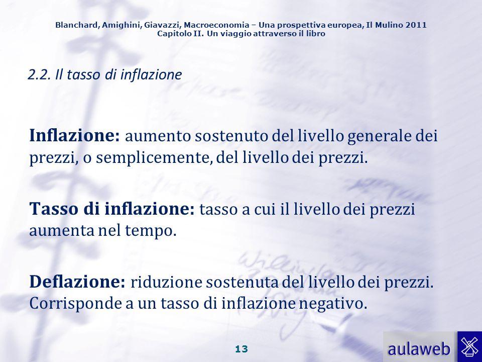 Blanchard, Amighini, Giavazzi, Macroeconomia – Una prospettiva europea, Il Mulino 2011