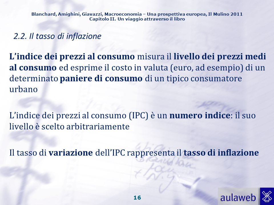 Il tasso di variazione dell'IPC rappresenta il tasso di inflazione