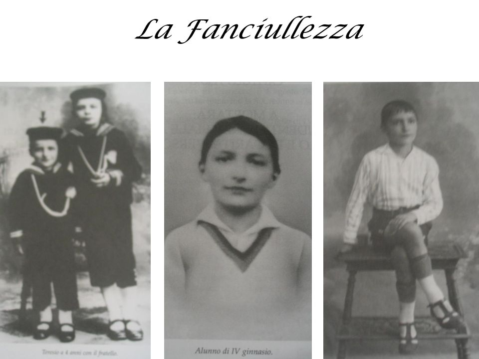 La Fanciullezza