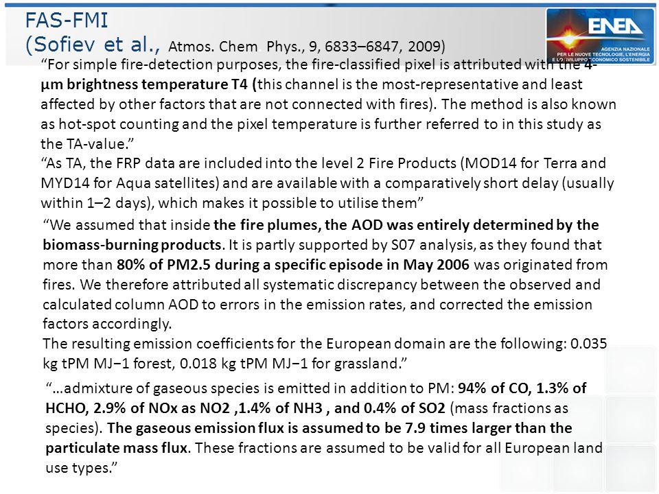 (Sofiev et al., Atmos. Chem. Phys., 9, 6833–6847, 2009)