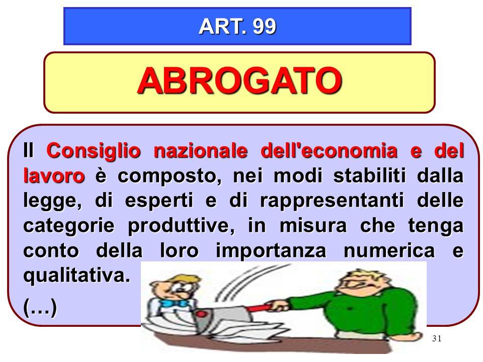 ART. 99 ABROGATO.
