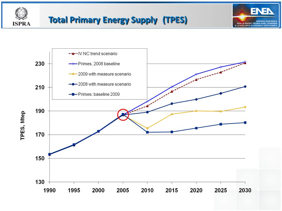 Total Primary Energy Supply (TPES)