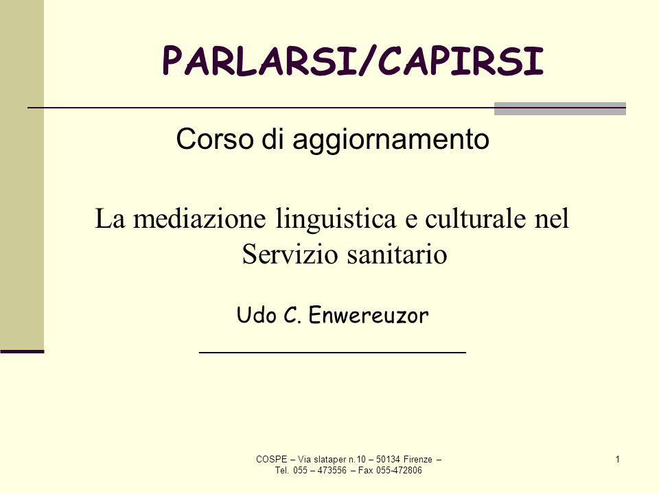 PARLARSI/CAPIRSI Corso di aggiornamento