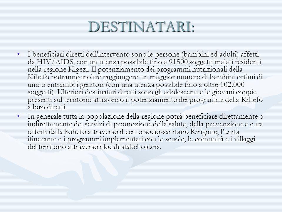 DESTINATARI: