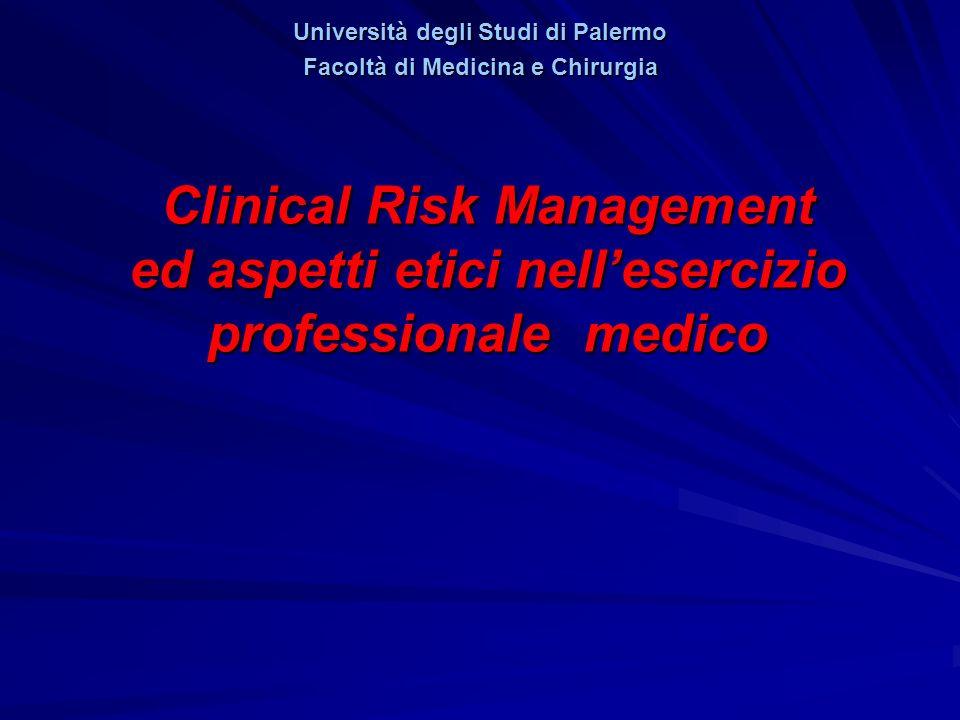 Università degli Studi di Palermo Facoltà di Medicina e Chirurgia