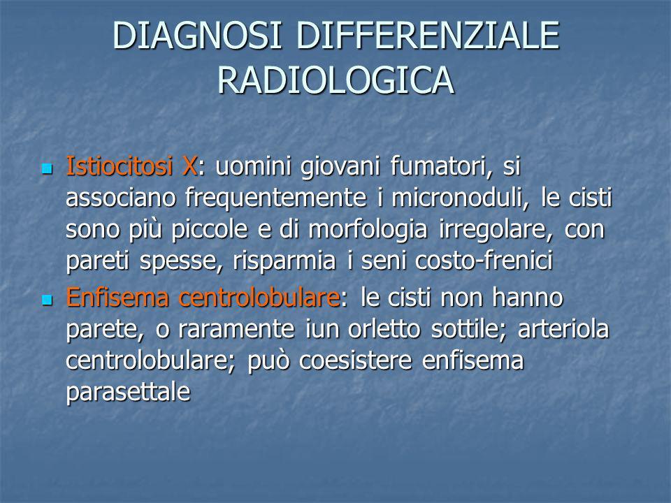 DIAGNOSI DIFFERENZIALE RADIOLOGICA