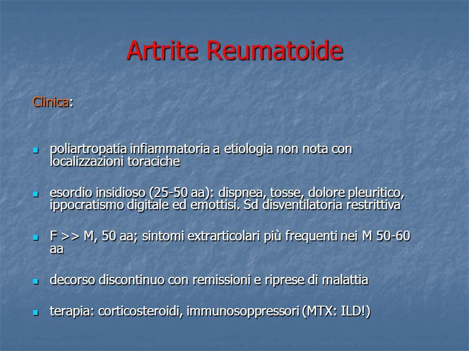 Artrite Reumatoide Clinica: