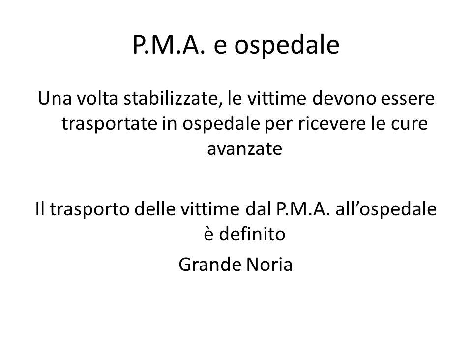 P.M.A. e ospedale