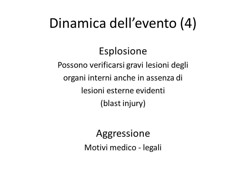 Dinamica dell'evento (4)