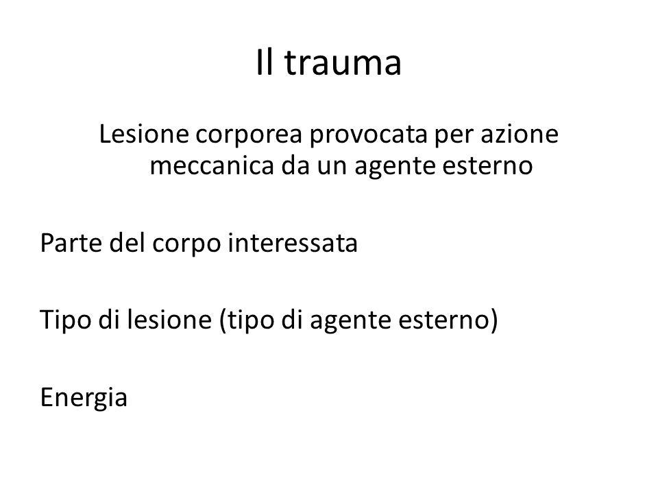 Il trauma