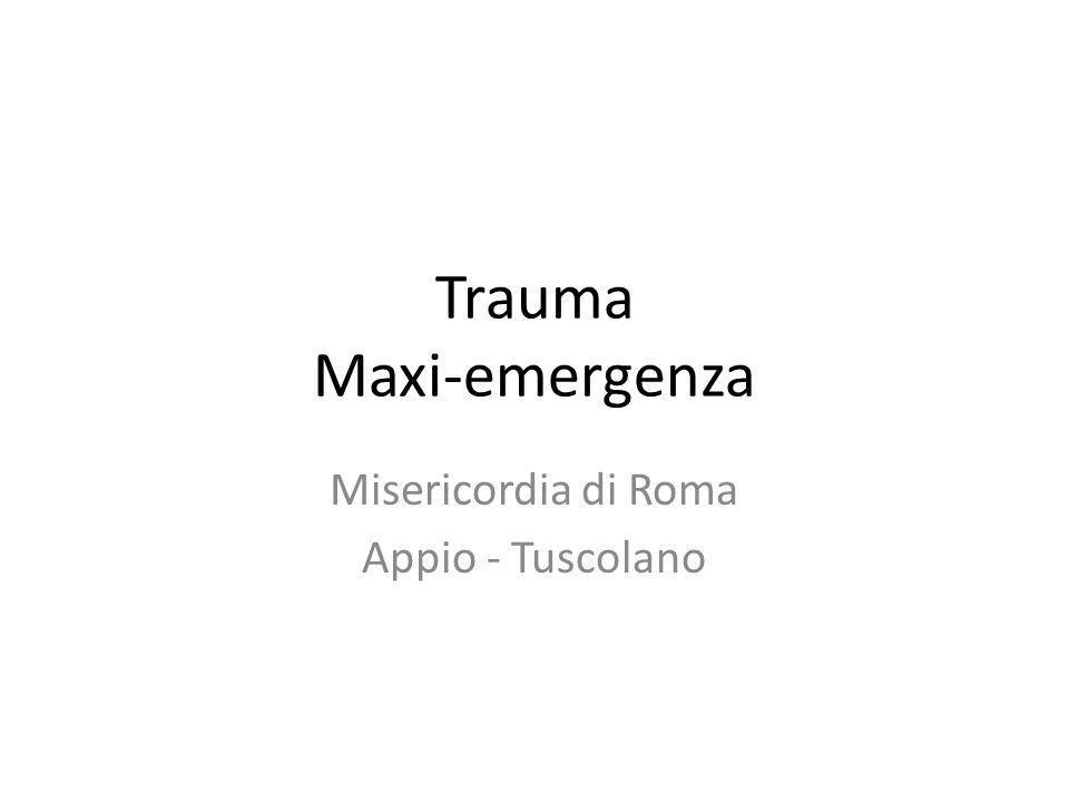 Trauma Maxi-emergenza