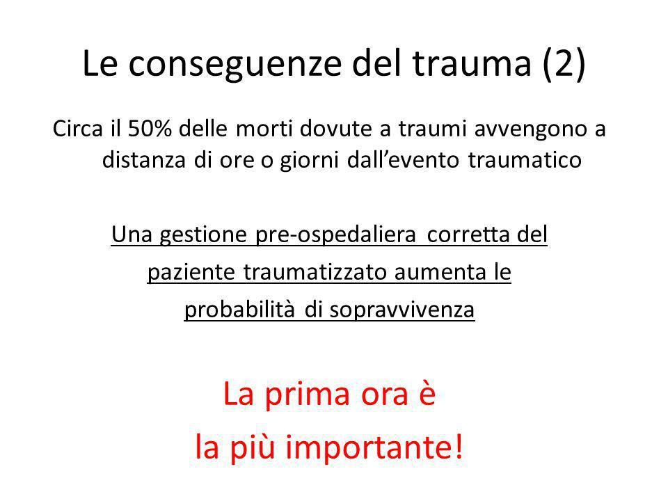 Le conseguenze del trauma (2)