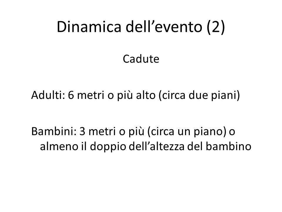 Dinamica dell'evento (2)