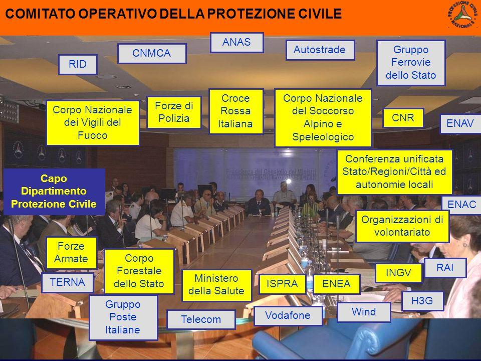 Capo Dipartimento Protezione Civile