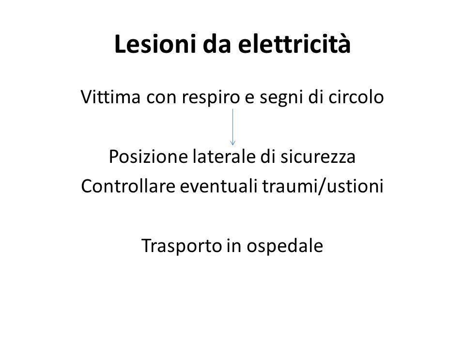 Lesioni da elettricità
