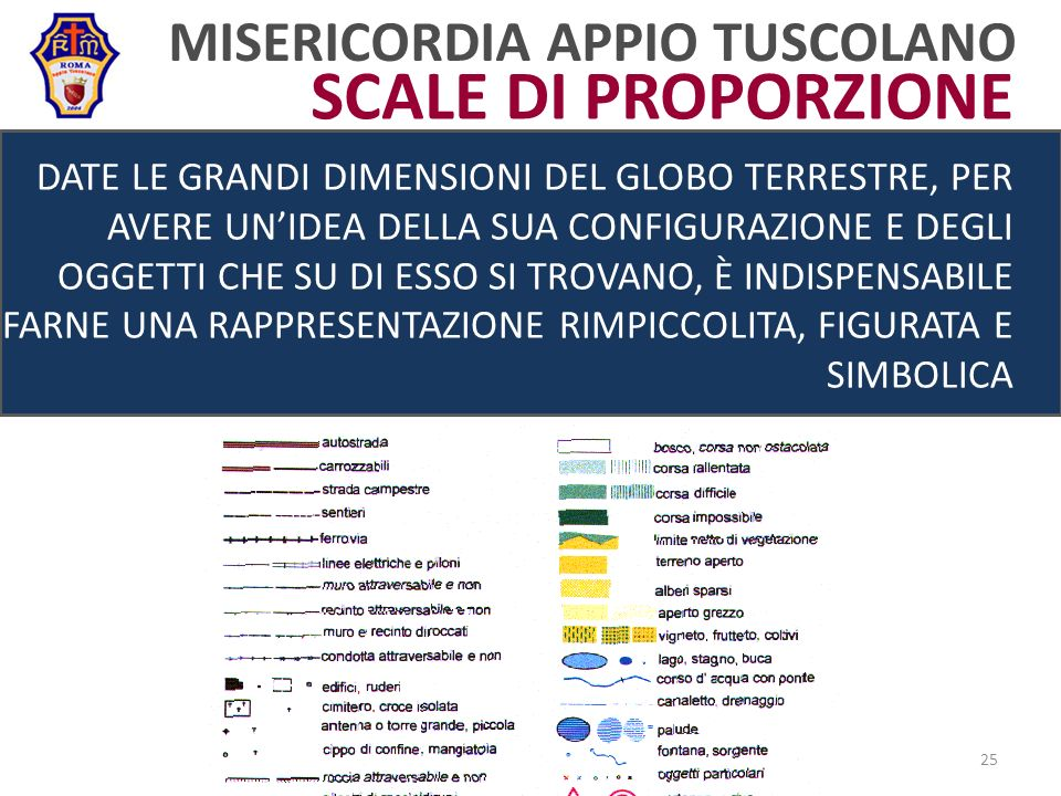 SCALE DI PROPORZIONE MISERICORDIA APPIO TUSCOLANO