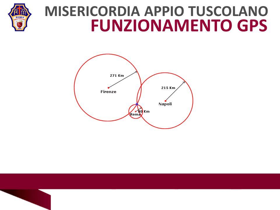 FUNZIONAMENTO GPS MISERICORDIA APPIO TUSCOLANO