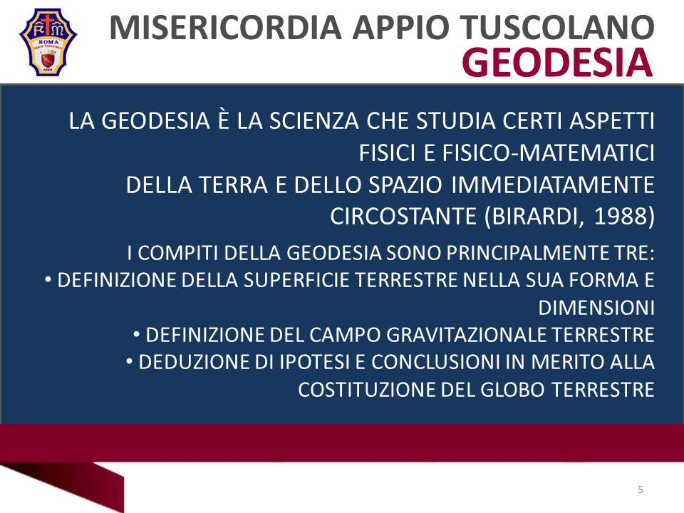 GEODESIA MISERICORDIA APPIO TUSCOLANO