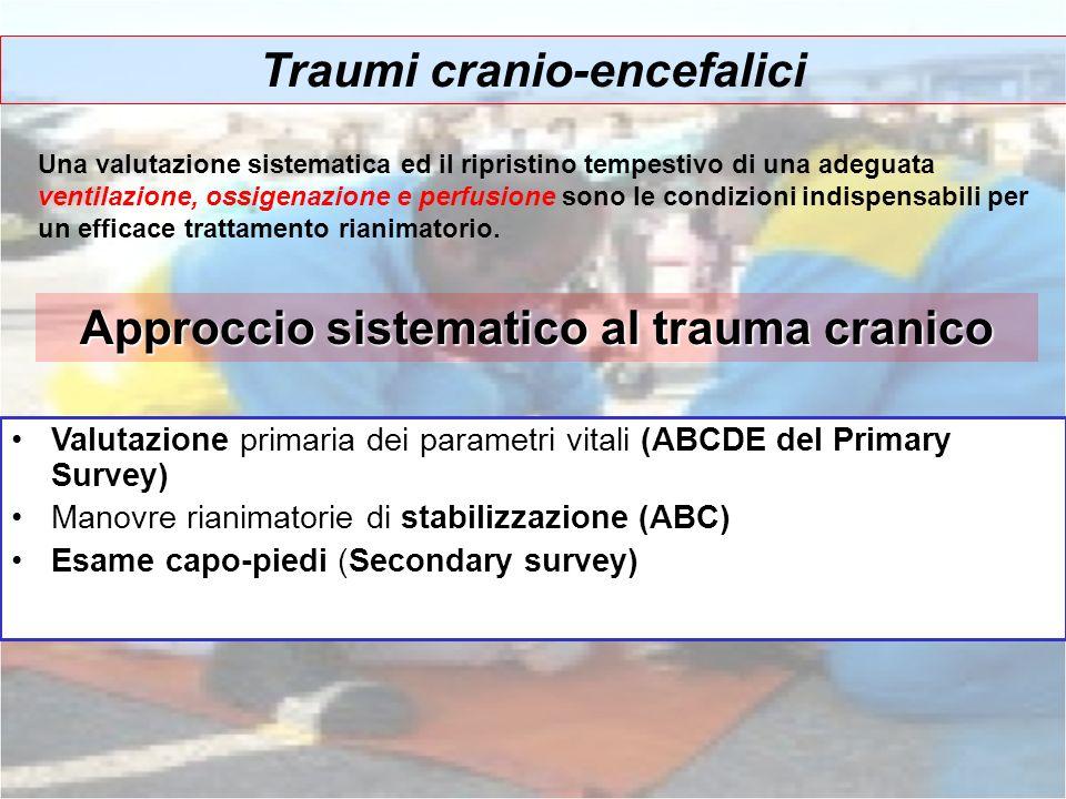 Approccio sistematico al trauma cranico